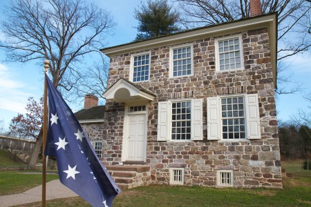Washington's headquarters at Valley Forge (Shenk)