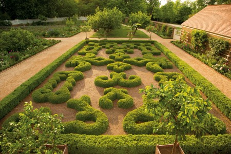 The Upper Garden at Mount Vernon