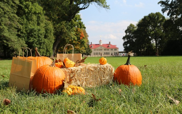 Trick-or-Treating at Mount Vernon
