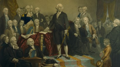 Washington's Presidential Cabinet