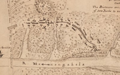 Battle of the Monongahela 1755