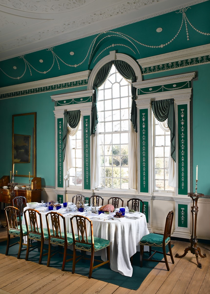 Large Dining Room At Mount Vernon