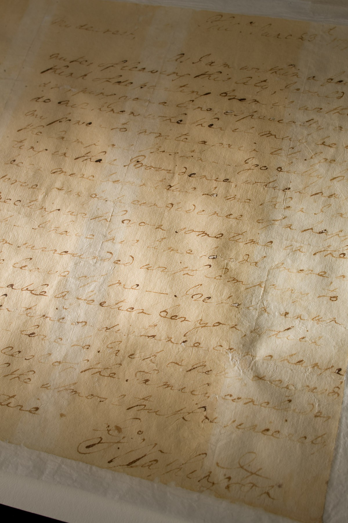 A Love Letter from General Washington · George Washington s Mount