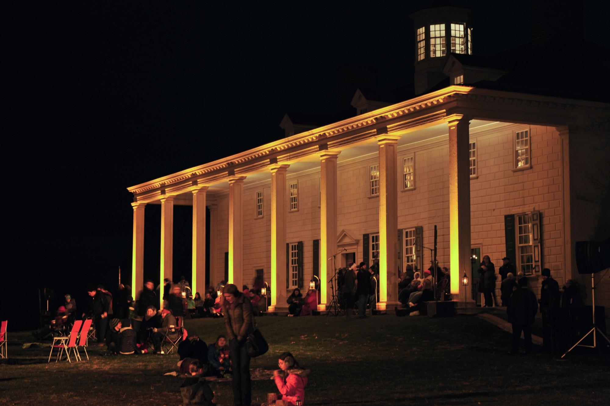 Christmas Illuminations at Mount Vernon · George Washington\'s Mount ...