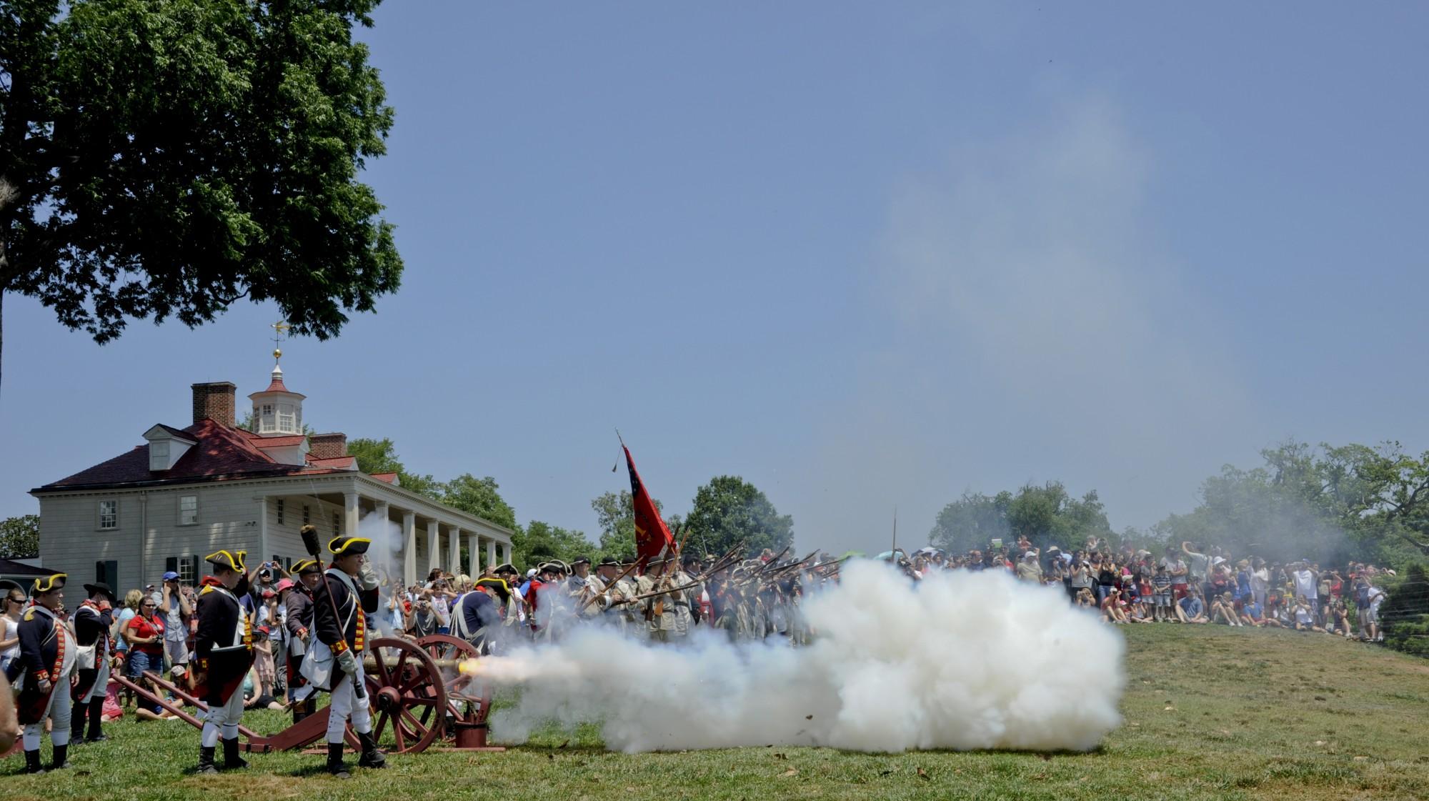 An American Celebration 183 George Washington S Mount Vernon