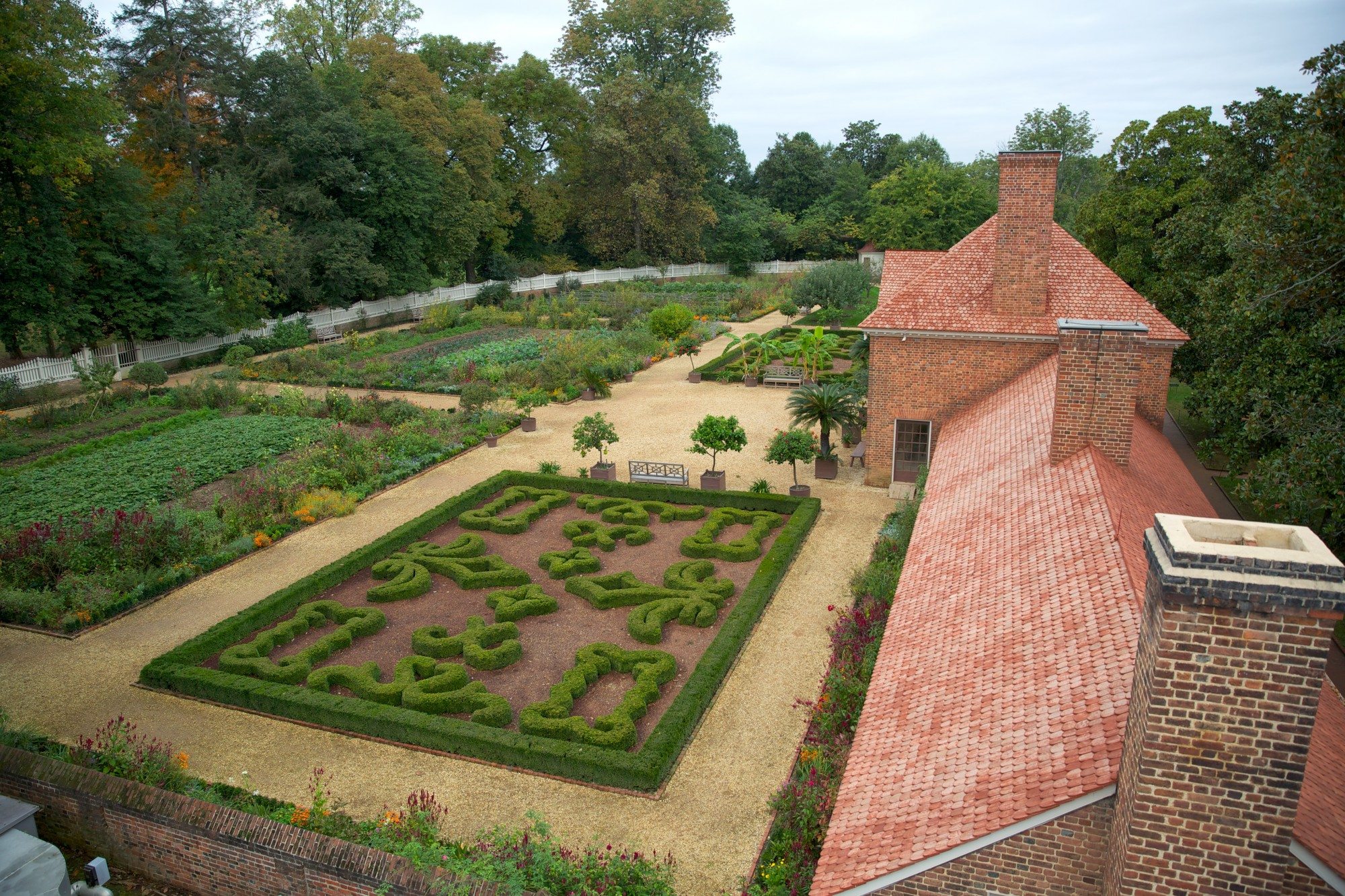 Gardens landscapes george washingtons mount vernon the upper garden and greenhouse workwithnaturefo