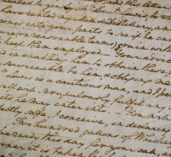 A Love Letter from General Washington