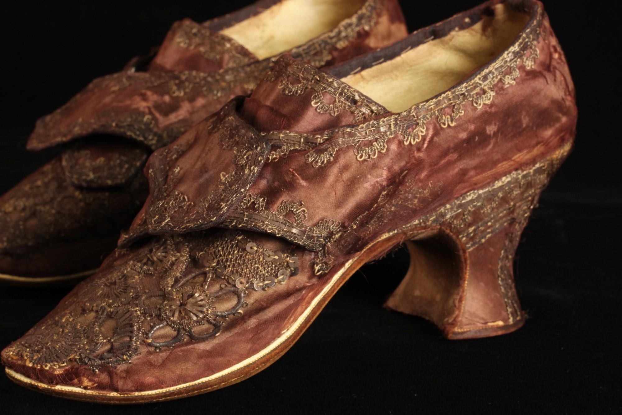 Martha Washington Wedding Shoes