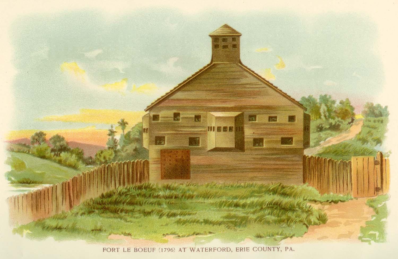 french n war middot george washington s mount vernon washington reaches fort lebouef
