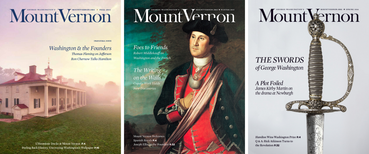 Subscription to Mount Vernon Magazine