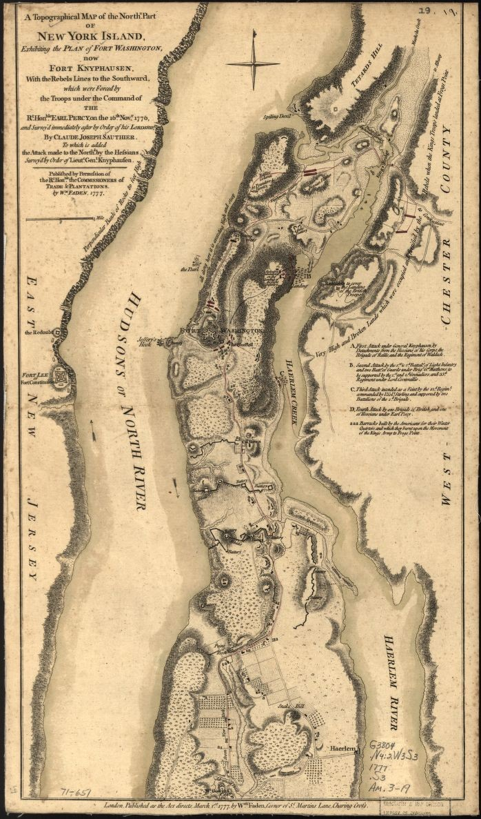 Revolutionary War Map Of New York.The Revolutionary War George Washington S Mount Vernon