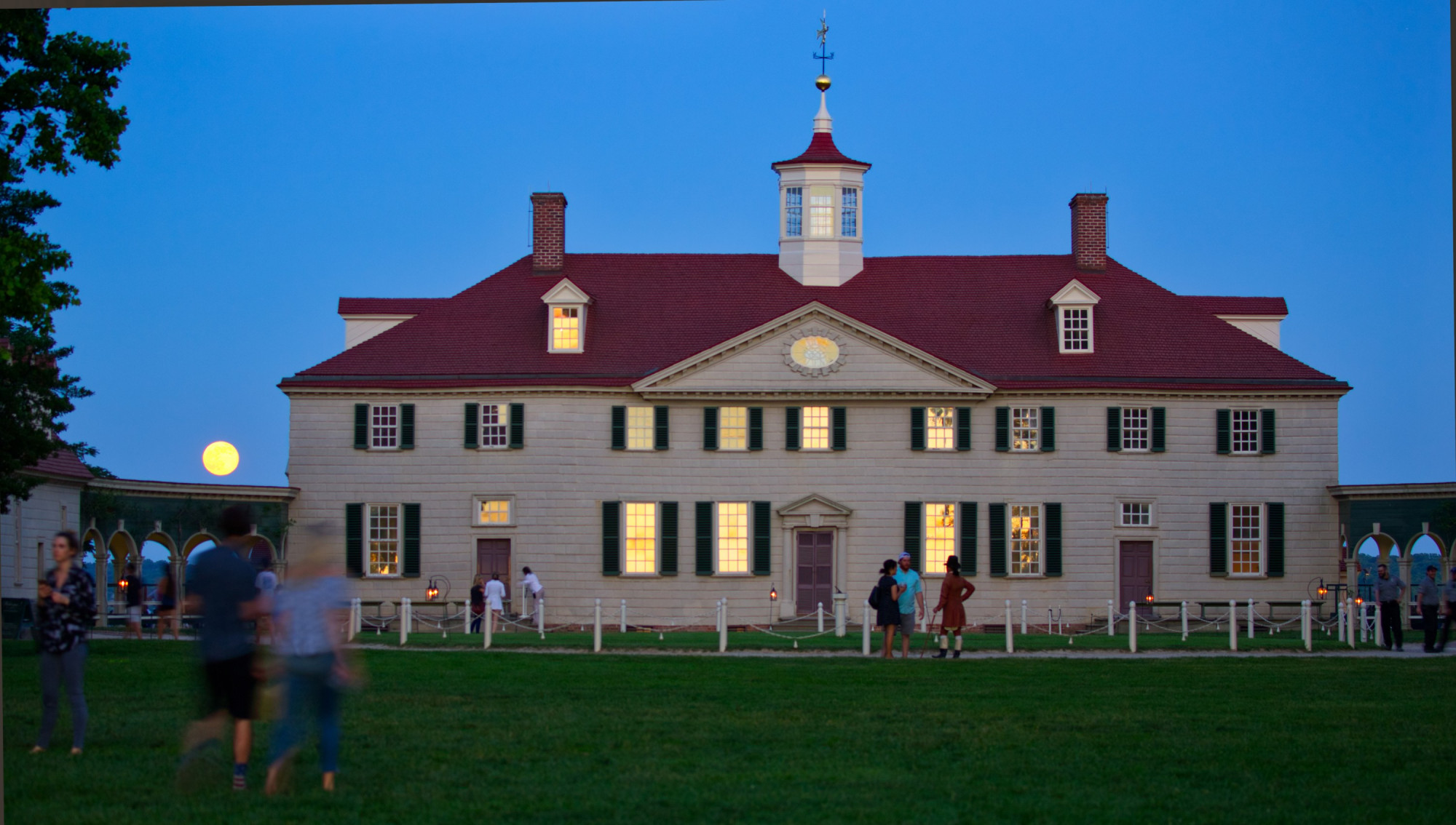 Ten Facts About the Mansion · George Washington's Mount Vernon