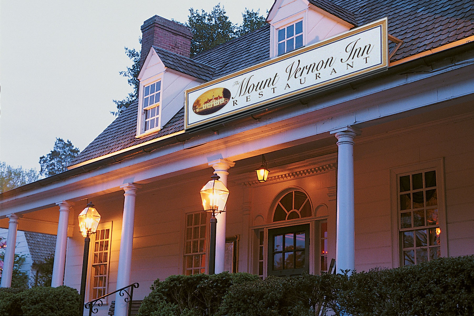 Mount Vernon Inn Restaurant George Washington S Mount Vernon