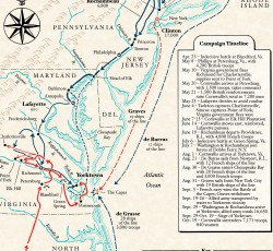 Map: The Yorktown Campaign