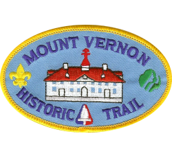 Mount Vernon Historic Trail Patch