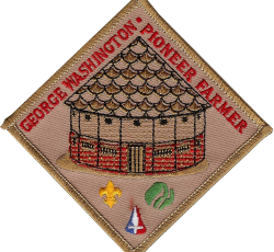 George Washington: Pioneer Farmer Patch