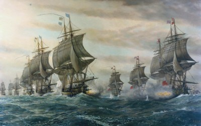 The Battle of the Virginia Capes
