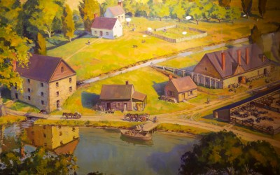 The Gristmill and Distillery in 1799