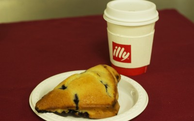 Illy Coffee and Scones