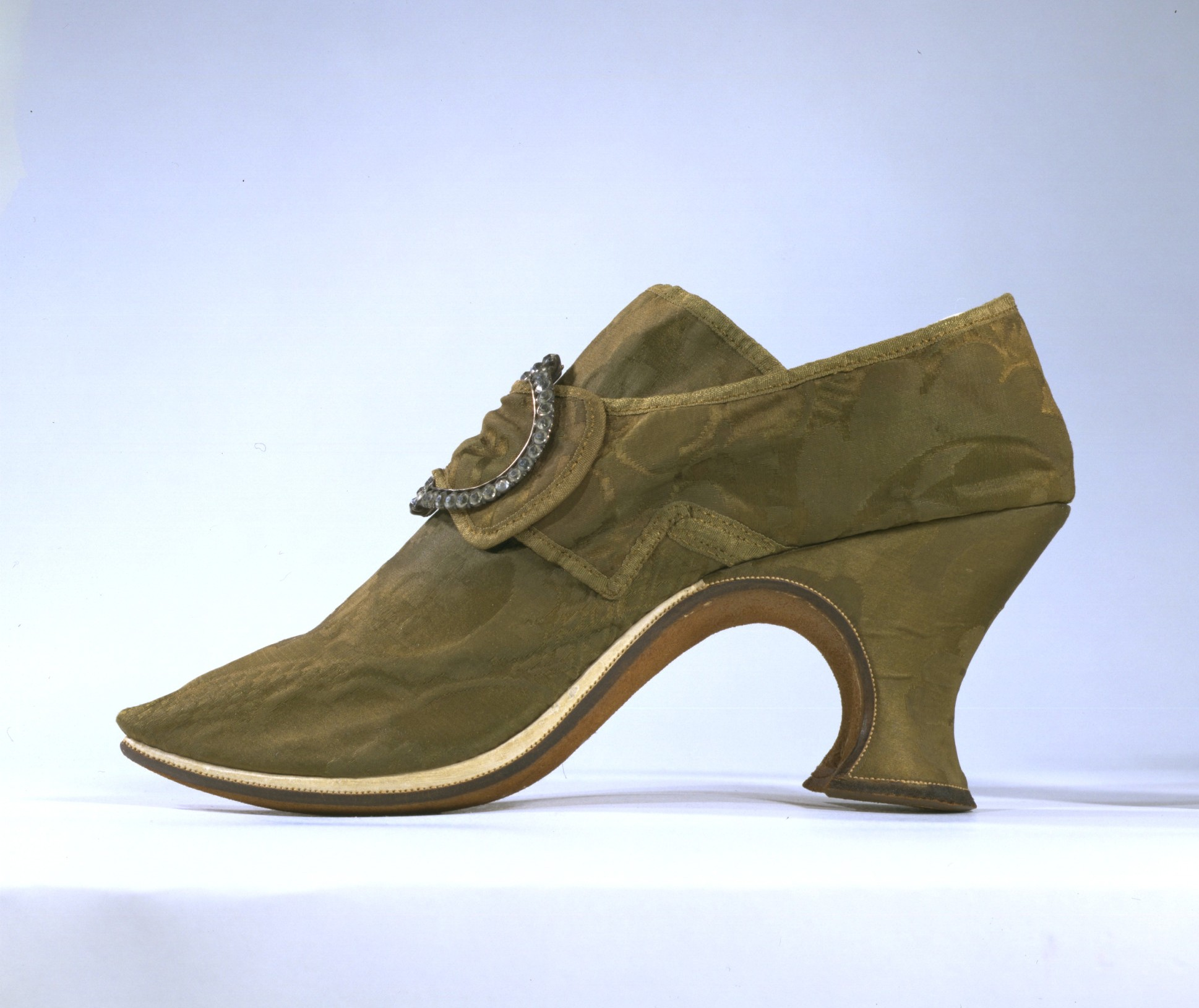 a8446735d56 Martha Washington purchased shoes from London shoemaker Gresham. Shoe  Women s  shoe. London