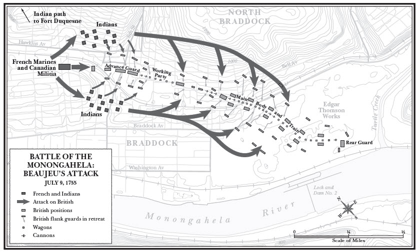 Battle of the Monongahela: Beaujeu's Attack (David Preston)