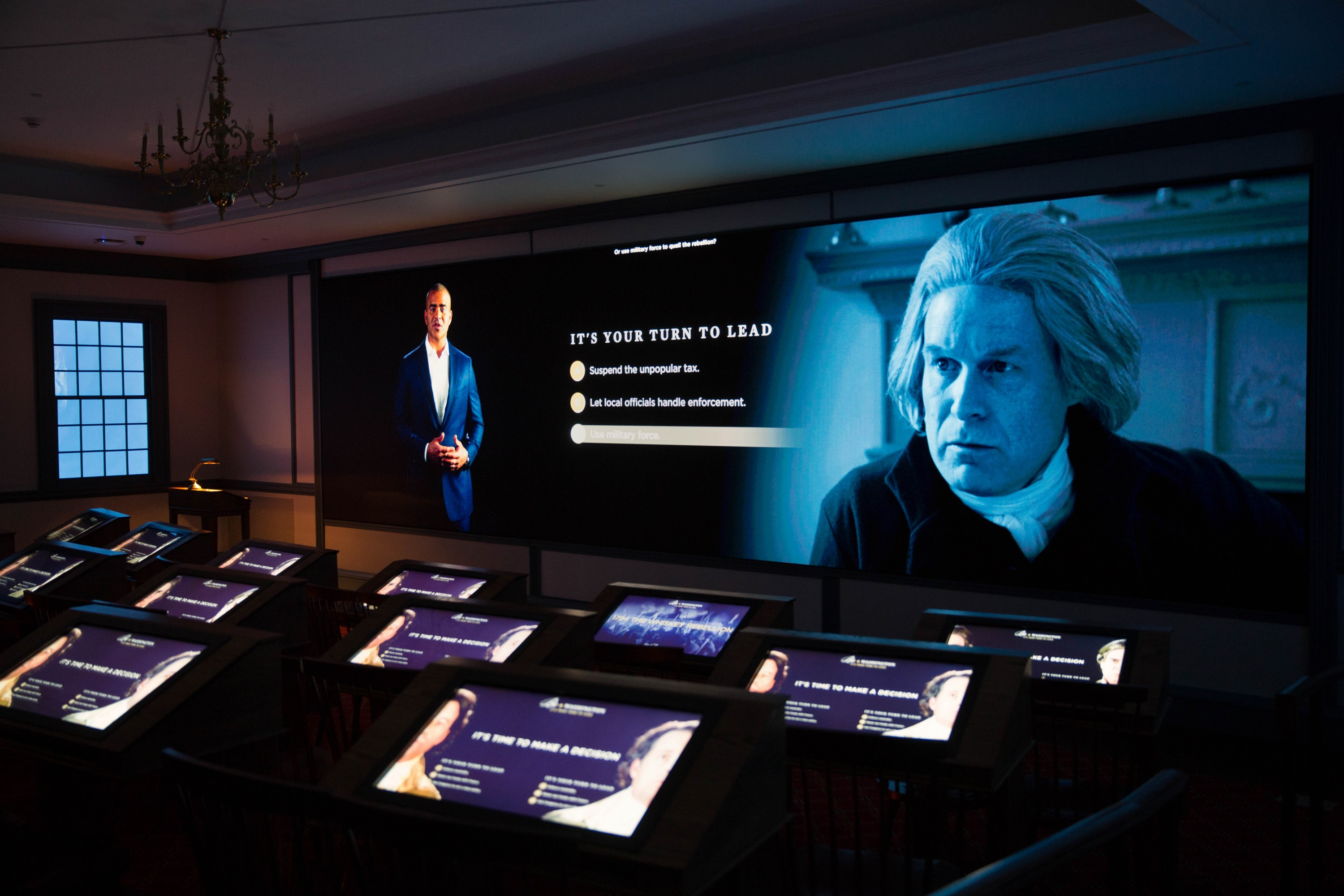 It's YOUR turn to lead in the new Be Washington interactive experience