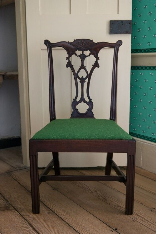 "English ""Gothic"" side chair, ca. 1755. Purchase, 2015."