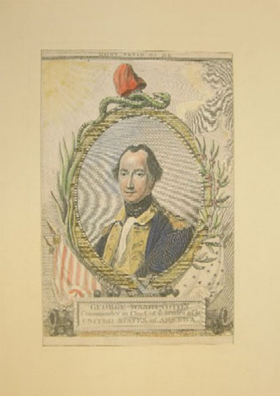 "William Sharp, ""George Washington, Commander in Chief of Ye Armies of Ye United States of America,"" 1780."