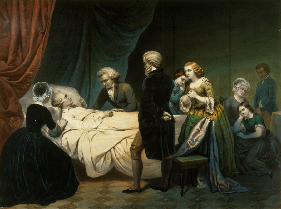 the death of george washington george washington s mount vernon