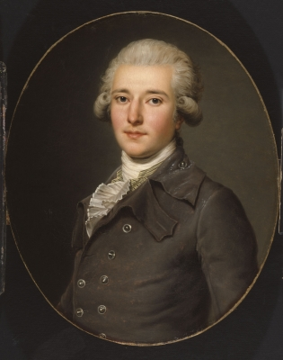 Edmond Charles Genet, by Adolf Ulrich Wertmuller, ca. 1784, Bequest of Nancy Fuller Genet, [1978.6.1]. Courtesy Albany Institute of History & Art.