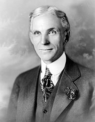 A portrait of Henry Ford (Wikimedia)