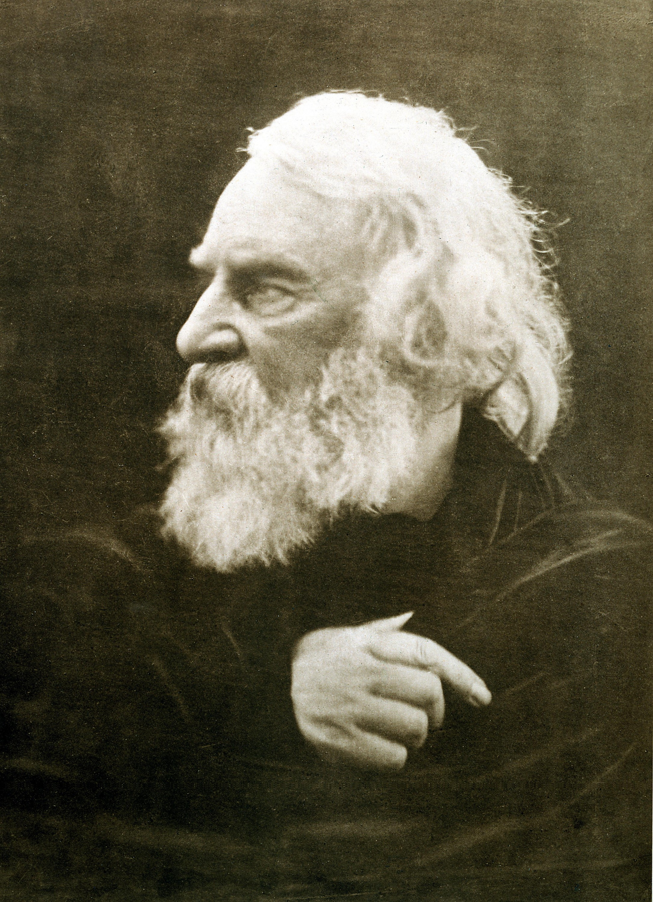 Henry Wadsworth Longfellow, photographed by Julia Margaret Cameron in 1868 (Wikimedia)