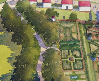 Mount Vernon Map Map of the Estate & Gardens · George Washington's Mount Vernon Mount Vernon Map