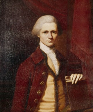 Portrait of Bushrod Washington by Henry Bendridge, 1783