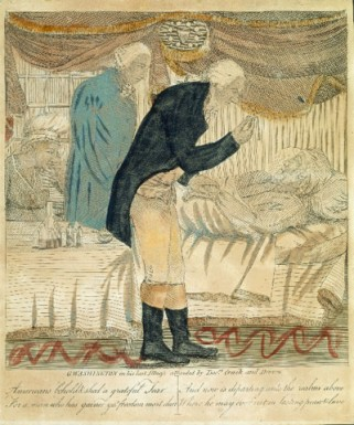G. Washington in his Last Illness, 1800 by Unknown Artist (Mount Vernon Ladies' Association)