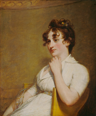 Eleanor Custis (Mrs. Lawrence Lewis), by Gilbert Stuart, 1804. National Gallery of Art.