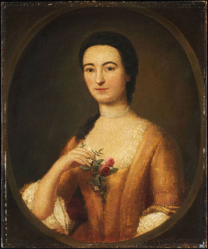 Annis Boudinot Stockton by unknown artist, year unknown. Courtesy Princeton University Art Museum.