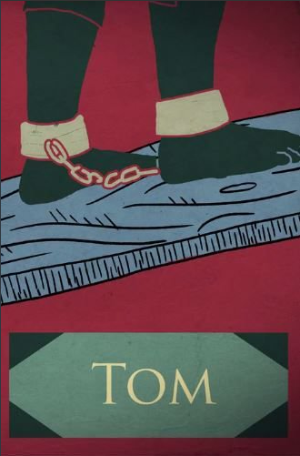 As punishment for attempting to flee, George Washington sold Tom to the Caribbean. This representation of Tom's story comes from Lives Bound Together, Mount Vernon.