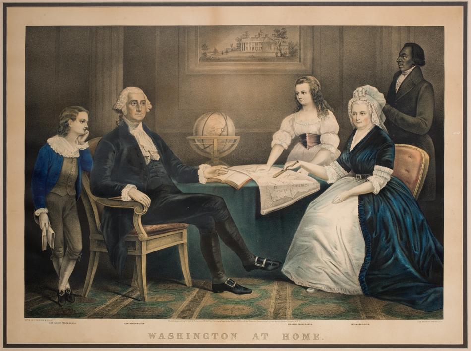 martha washington and george washingtons relationship with his mother