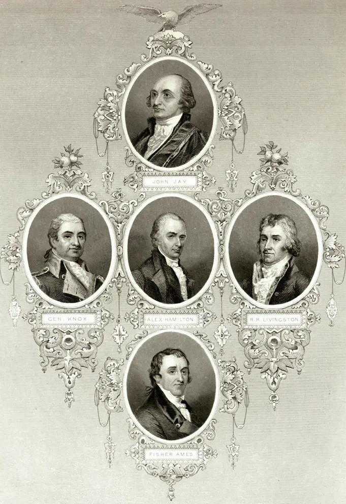 Jefferson And Hamilton Political Rivals 183 George