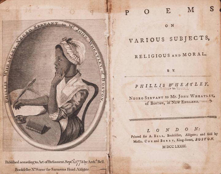 phillis wheatley · george washington s mount vernon