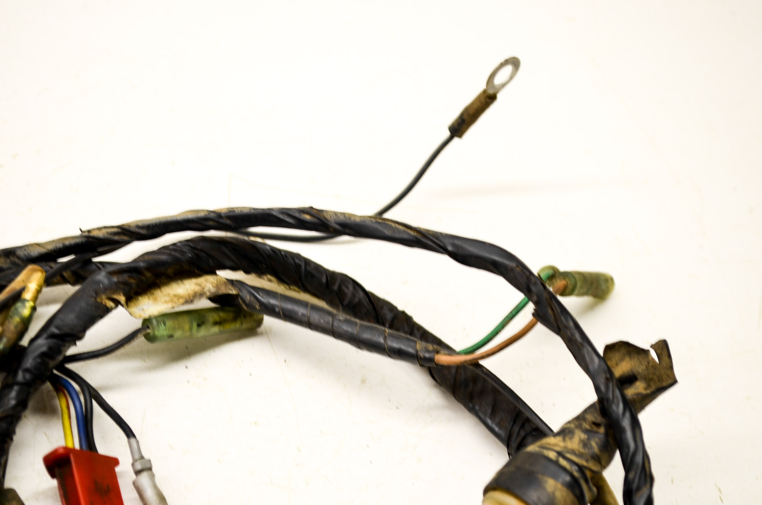 89 yamaha blaster 200 wire harness electrical wiring ... 2001 yamaha blaster wiring diagram