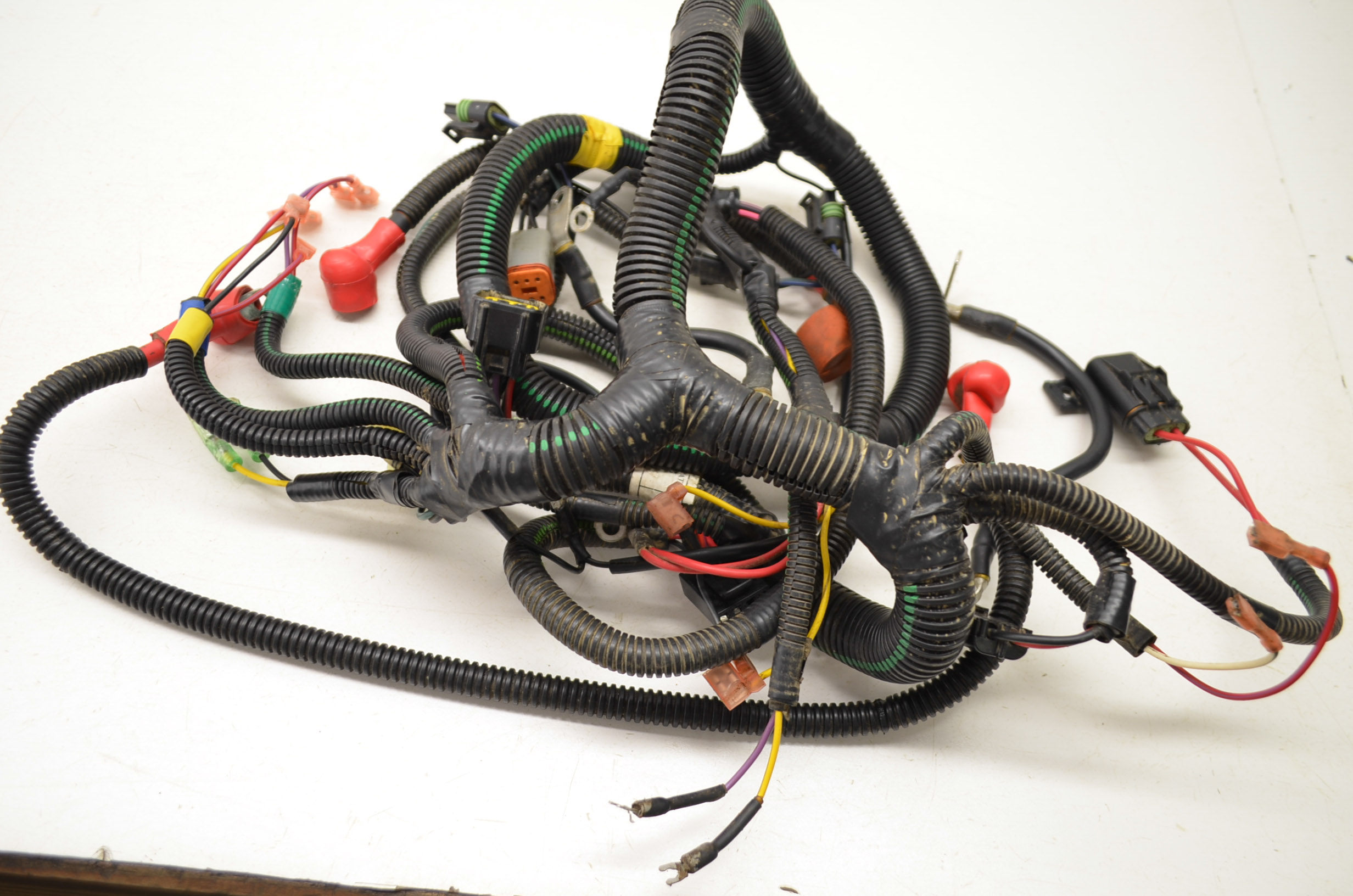 03 Can Am Rally 200 Wire Harness Electrical Wiring 175 2x4 Bombardier