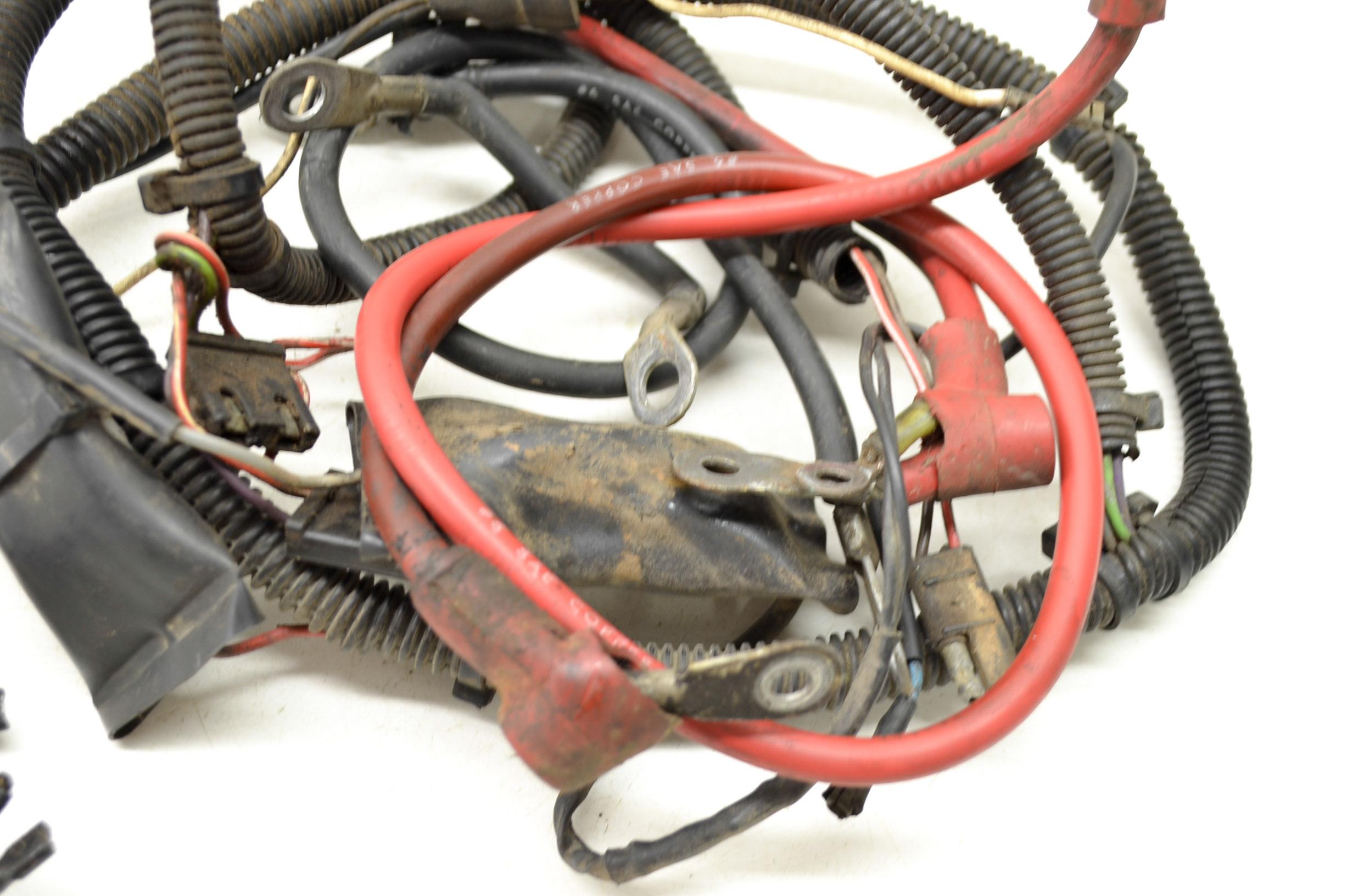 90 Polaris Trail Boss 350l 4x4 Wire Harness Electrical Wiring Ebay 2003 Trailblazer