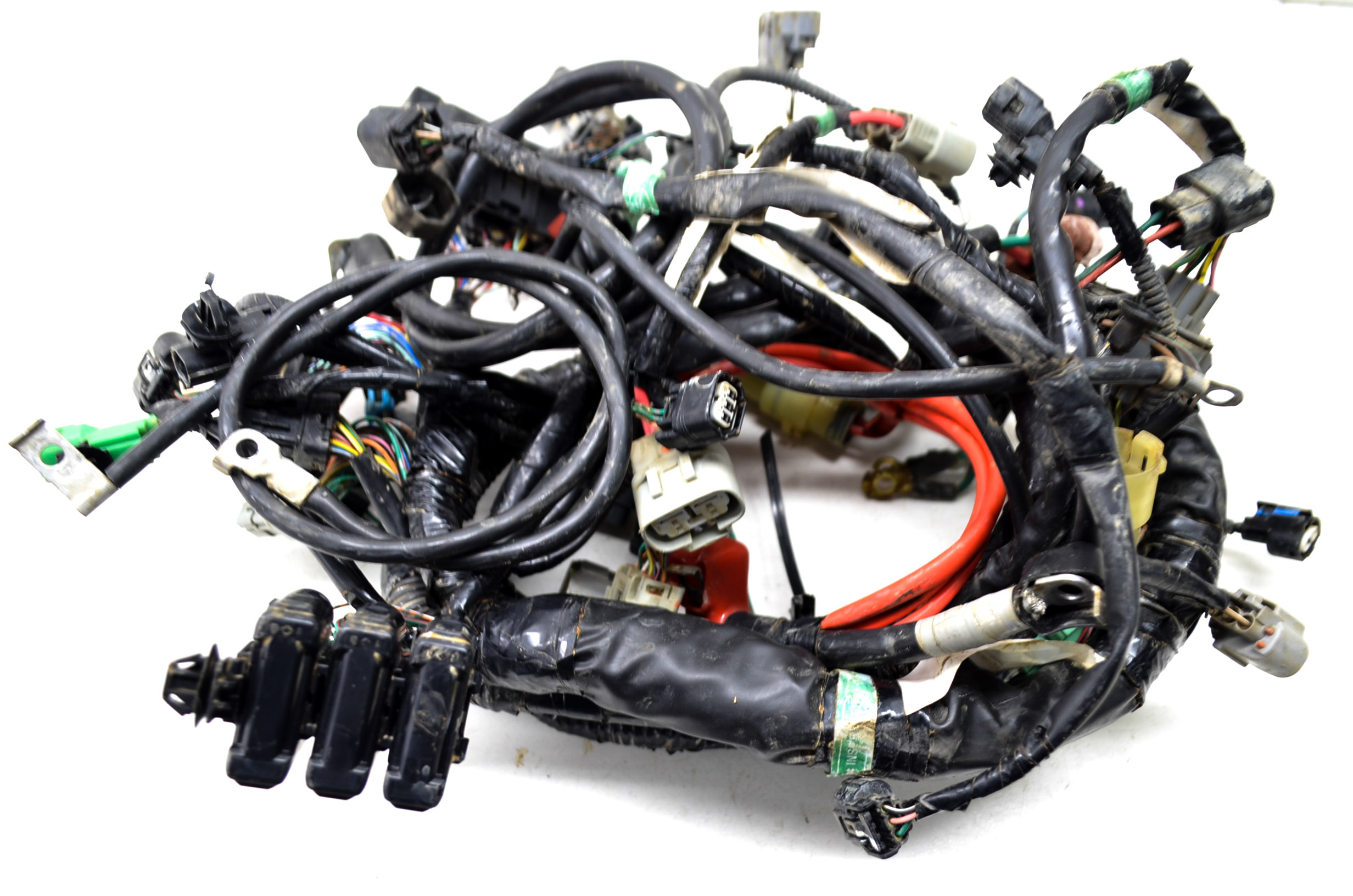 1861 8 12 honda foreman 500 wire harness electrical wiring trx500fpe 4x4 Honda Foreman 450 Lifted at bayanpartner.co