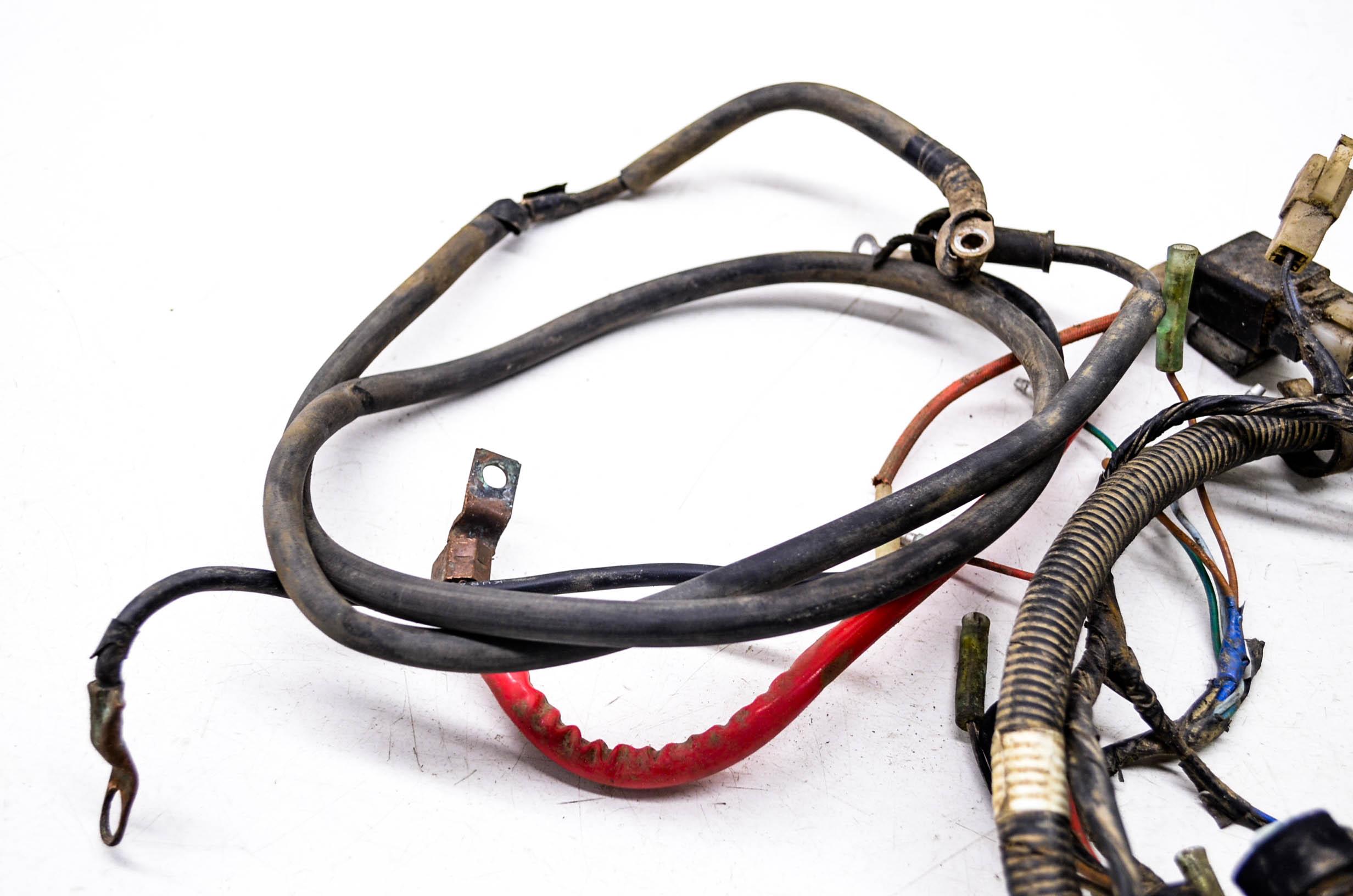 yamaha timberwolf wiring harness on