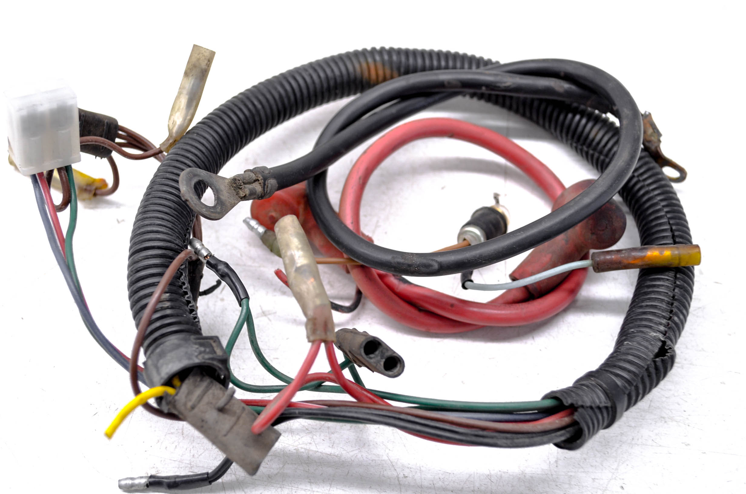 details about 87 polaris trail boss 250 2x4 wire harness electrical wiring Automotive Wiring Harness