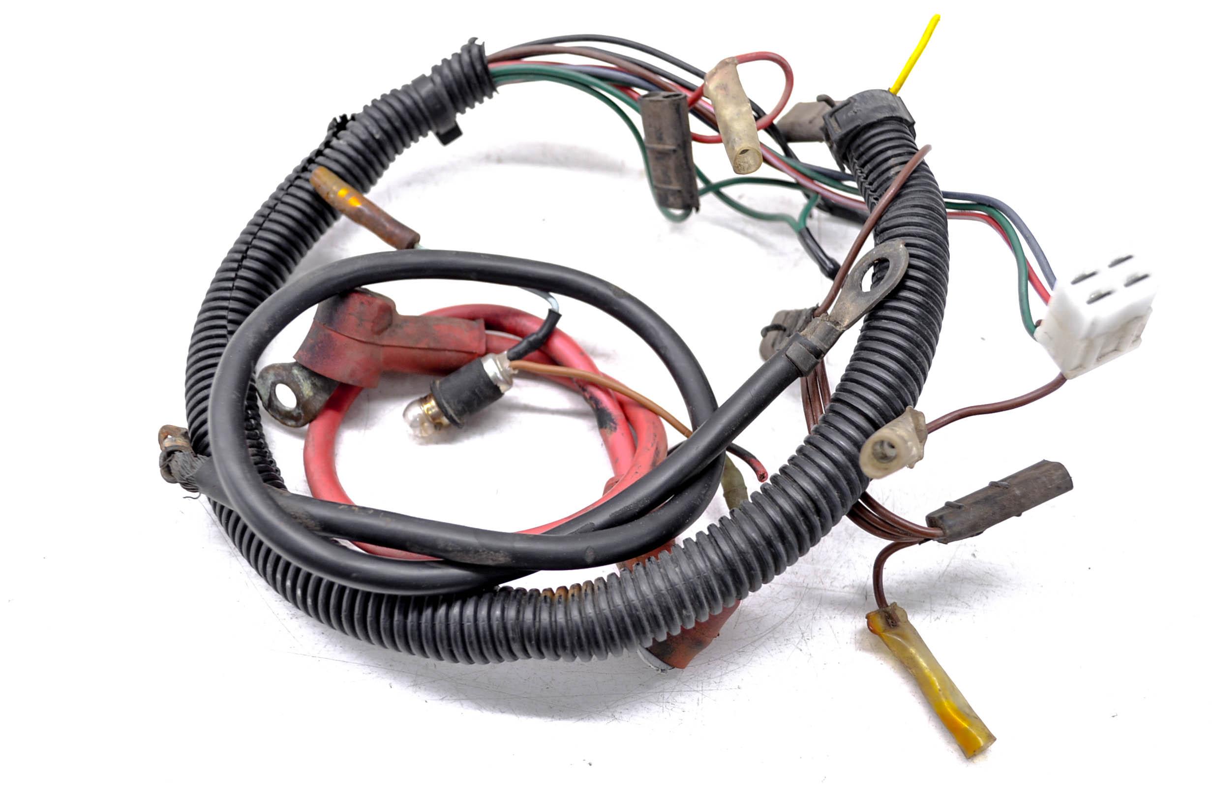 87 Polaris Trail Boss 250 2x4 Wire Harness Electrical Wiring Ebay 250r