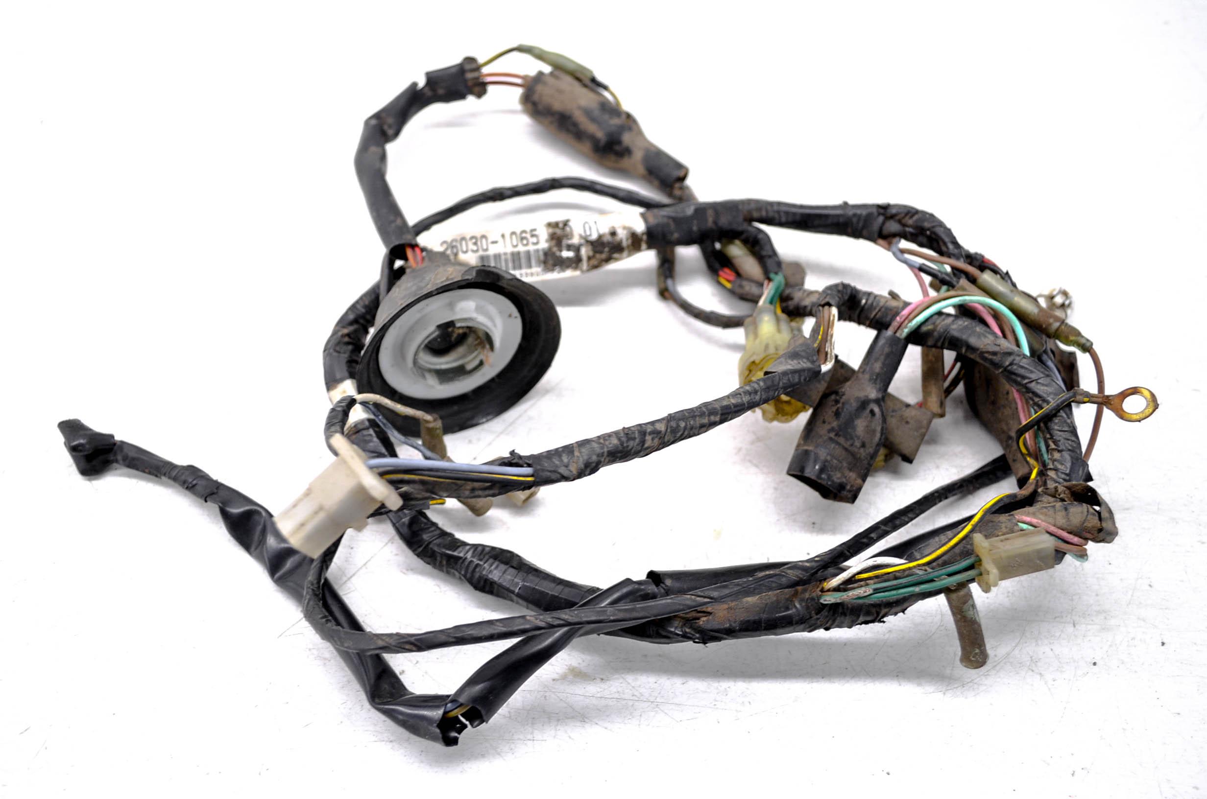 01 kawasaki mojave 250 2x4 wire harness electrical wiring ksf250