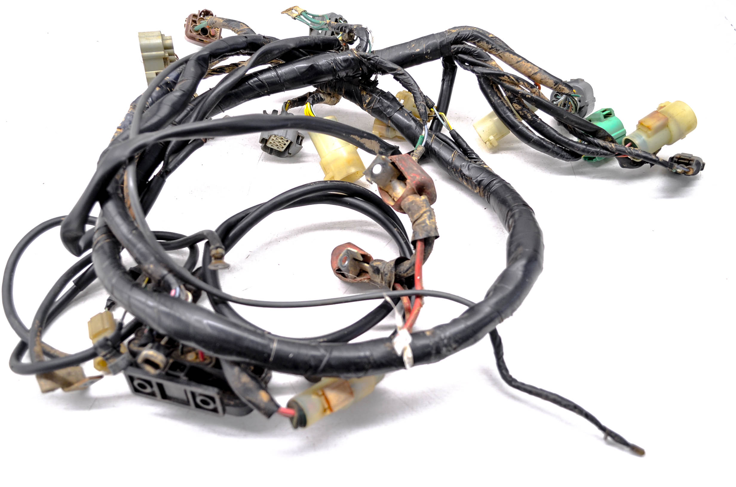 Details about 01 Honda Rancher 350 2x4 Wire Harness Electrical Wiring on